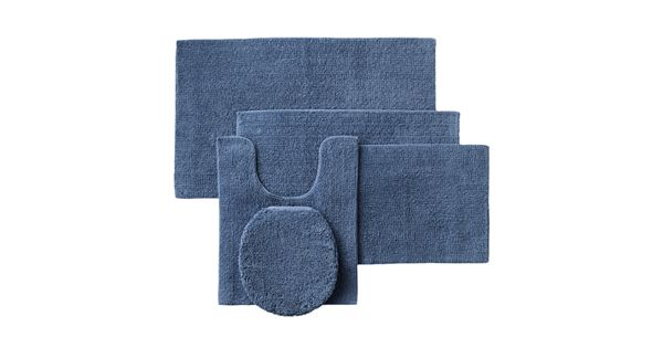Sonoma Goods For Life Reversible Cotton Bath Rugs