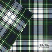 Premier Comfort Softspun Regiment Plaid Sheet Set