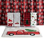 St. Nicholas Square® Holiday Farmhouse Shower Curtain Collection