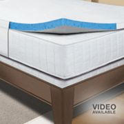 Sleep Innovations Gel Memory Foam 2-in. Mattress Topper