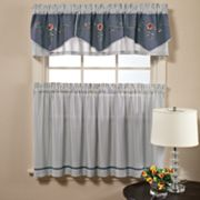 Saturday Knight Ltd. Birchfield Tier Kitchen Curtain Pair