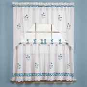 Saturday Knight Ltd. Oopsy Daisy Tier Kitchen Curtain Pair