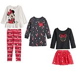 Disney's Minnie Mouse Toddler Girl Holiday Collection by Jumping Beans®