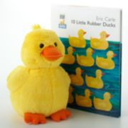 Kohl's Cares Eric Carle 10 Little Rubber Ducks Collection