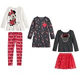 Disney's Minnie Mouse Girls 4-12 Holiday Collection by Jumping Beans®