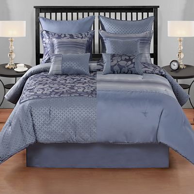 Home Classics Aurora 8-pc. Reversible Comforter Set