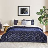 Scott Living Luxe Lustre Velvet Comforter Set & Throw Pillow Collection