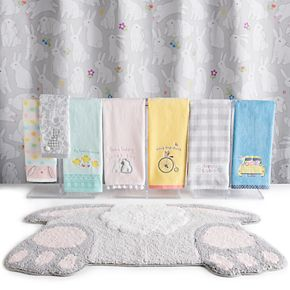 Easter Bunny Bath Towel Collection