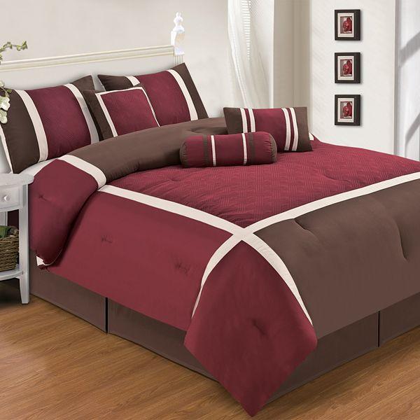 Home Classics Lindon 7 Pc Comforter Set