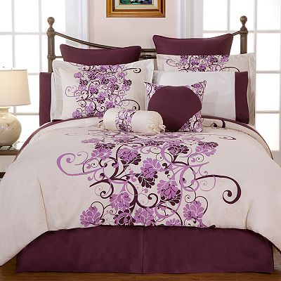 Pointehaven Grapevine Duvet Cover Set