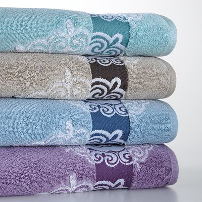 SONOMA life + style Ultimate Performance Medallion Bath Towels