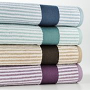 SONOMA life + style Ultimate Performance Striped Bath Towels