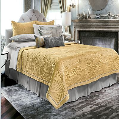 Jennifer Lopez bedding collection Modern Miami Coverlet
