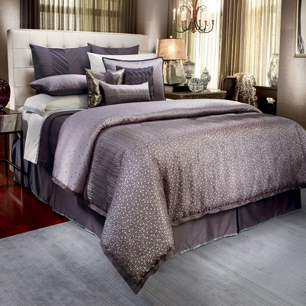 Up for sale is a new Jennifer Lopez Gatsby Cal King Comforter 4 piece bedding set. It is new and never been opened. 1 comforter (