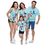 Disney's Mickey & Minnie Mouse Classic Graphic Tops by Family Fun