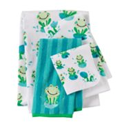 Jumping Beans Froggy Fun Bath Towels