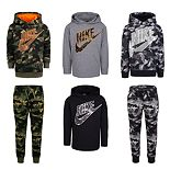 Boys 4-7 Nike Camouflaged Mix & Match Outfits