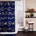 Saturday Knight, Ltd. Gold Koi Shower Curtain Collection