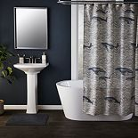 Saturday Knight, Ltd. Whale Waves Shower Curtain Collection