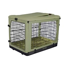 Pet Gear The Other Door Pet Crate & Plush Pad