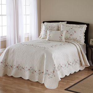 Always Home Amber Quilted Bedspread Coordinates