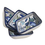Le Souk Ceramique Aqua Fish Serveware Collection