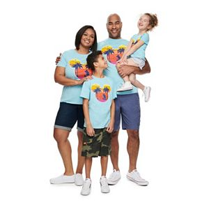 Disney's Mickey Mouse Tropical Graphic Tees by Family Fun