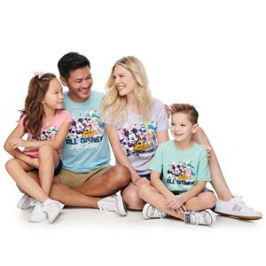"""Disney's Mickey & Friends """"All Disney All Day"""" Graphic Tees by Family Fun"""