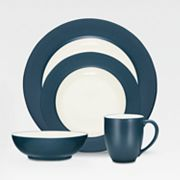 Noritake Colorwave Blue Rim Dinnerware Collection