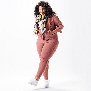 Plus Size Set the Monotone Outfit