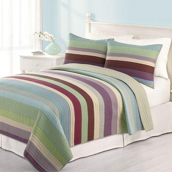 Home Classics Home Classics Audrey Striped Quilt