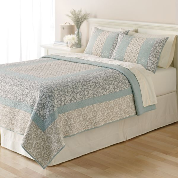 Bed Bath Online Home Classics Brittany Floral Quilt