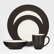 Noritake Colorwave Chocolate Rim Dinnerware Collection