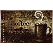 Mohawk Home Baroque Coffee Kitchen Rug