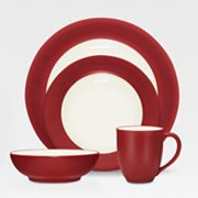 Noritake Colorwave Raspberry Rim Dinnerware Collection