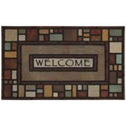 Mohawk Home Silvia Block Welcome Doormat
