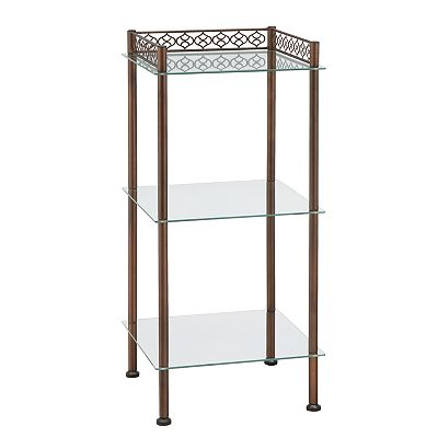 Neu Home Scrolled Tiered Shelf