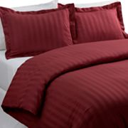 Croft and Barrow 3-pc. Striped Duvet Cover Set
