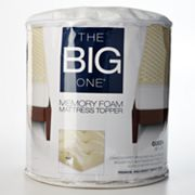 The Big One 1 1/2-in. Memory Foam Mattress Topper