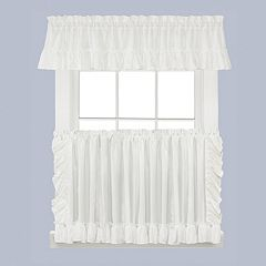 Saturday Knight, Ltd. Sarah Tier Kitchen Window Curtains
