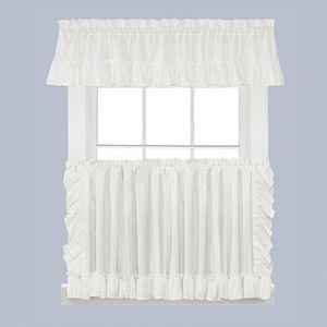 Saturday Knight, Ltd. Sarah Tier Kitchen Window Curtains