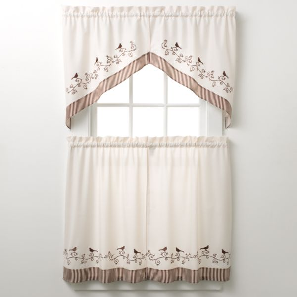 Kohls.com CHF amp; YOU CHF Grace Tailored Swag Tier Kitchen Curtains