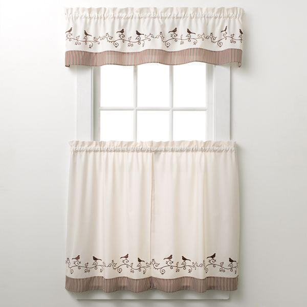 Chf You Chf And You Bird Tier Kitchen Curtains Questions Answers How To Faqs