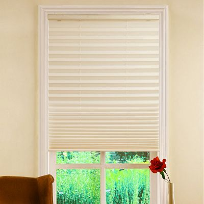 Pleated Cordless Shades