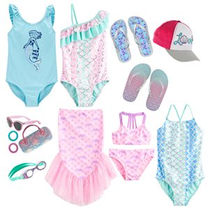 Shiny Mermaid Swim Collection