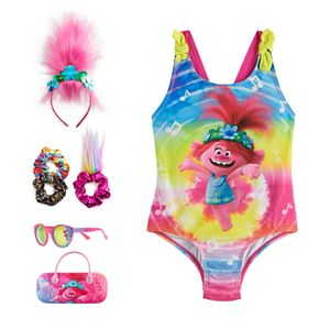 Girls 4-6x Trolls Poppy Swim Collection