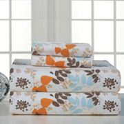 Pointehaven Winter Breeze Flannel Sheet Set