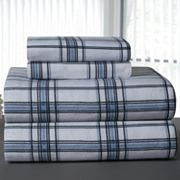 Pointehaven Plaid Flannel Sheet Set