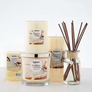 Sonoma Goods For Life Sugared Vanilla Candle Collection