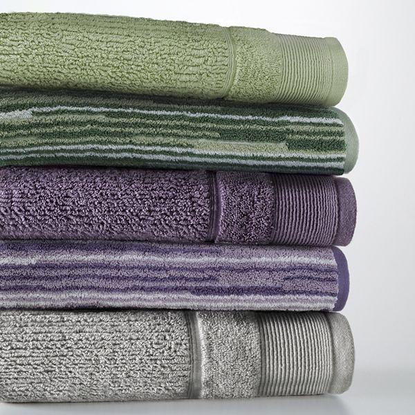 Shower Towel Broke: Kohls.com Apt. 9 Apt. 9 Quick-Drying Solid And Broken Line